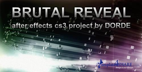Brutal Reveal - After Effects Project (Videohive)