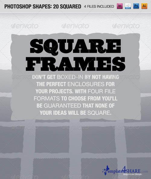 GraphicRiver 20 Frames Squared Design