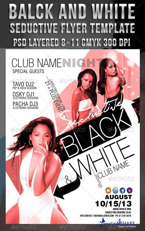 GraphicRiver White Black Seductive