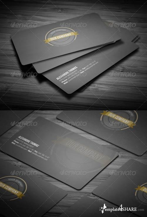 GraphicRiver Rounded Clean Business Card
