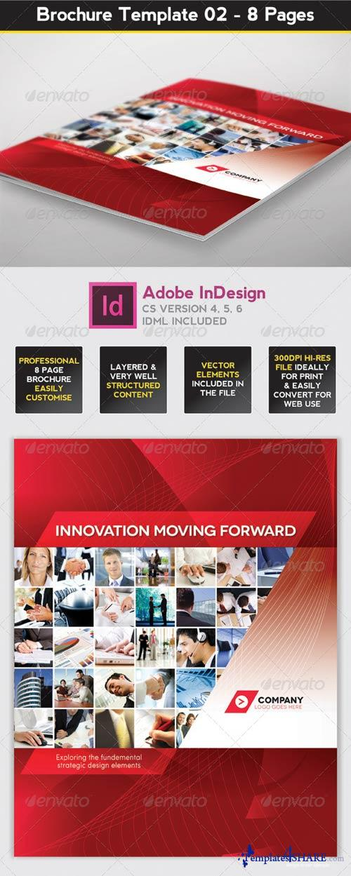 8 page brochure template - graphicriver brochure template indesign 8 page layout 02