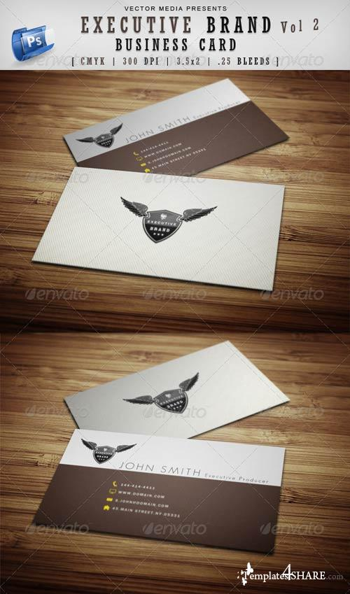 GraphicRiver Executive Brand - Business Card [Vol.2]