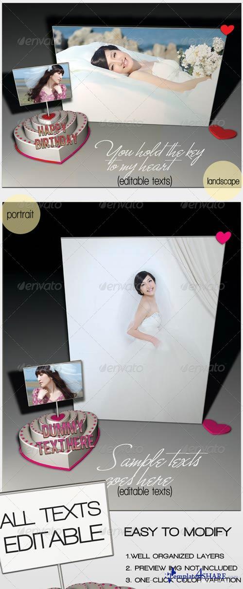GraphicRiver 'Photo Frame' Greeting Card