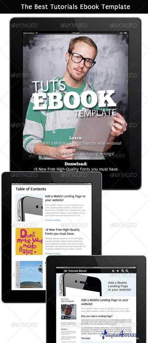 GraphicRiver Tutorials Ebook That Looks Like a Website