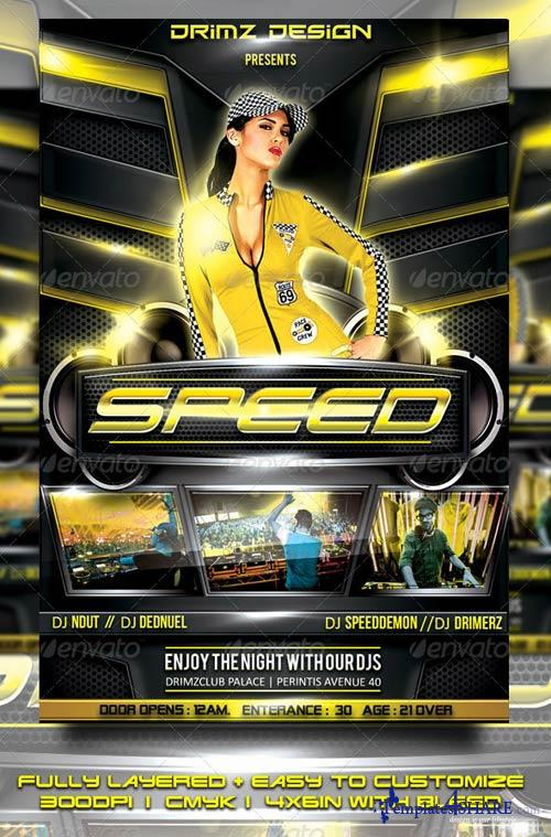 GraphicRiver Speed Flyer