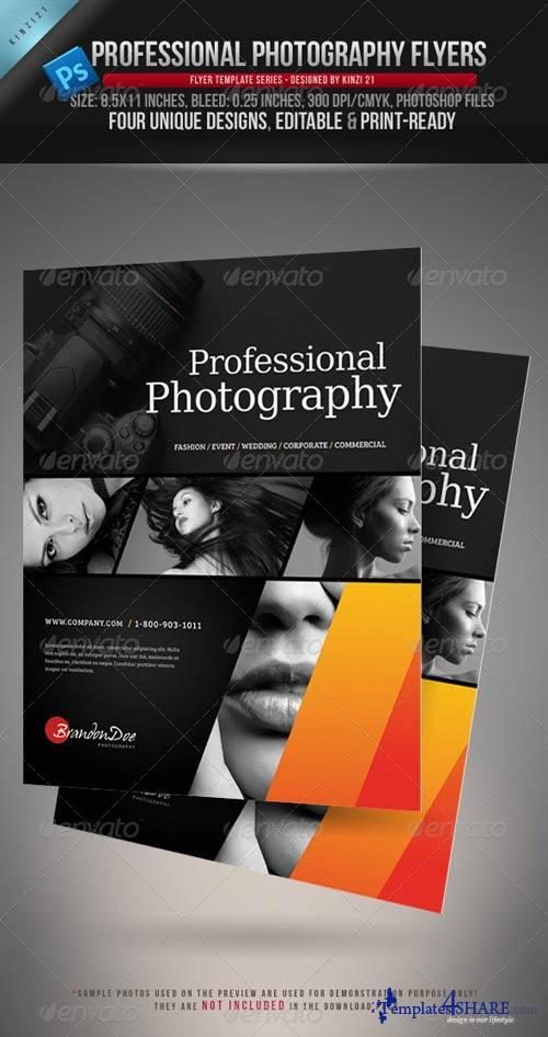 GraphicRiver Professional Photography Flyers