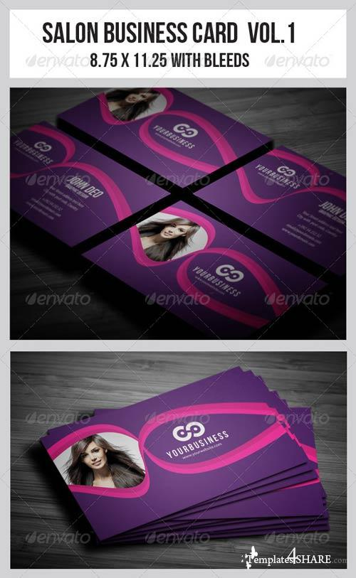 GraphicRiver Salon Business Card Vol.1