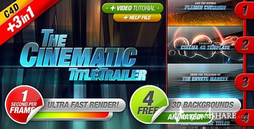 Cinematic Titles 3 in 1 - After Effects Project (Videohive)