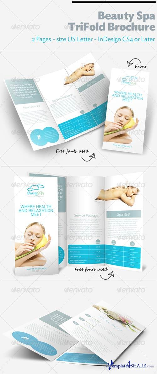 GraphicRiver Beauty Spa TriFold Brochure