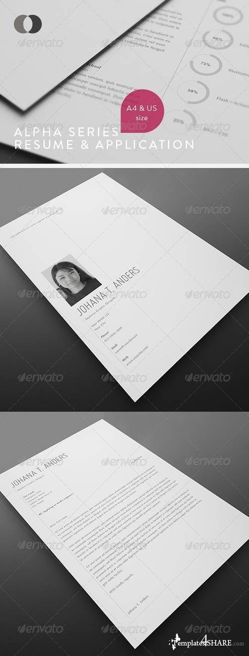 GraphicRiver Resume - Alpha Series