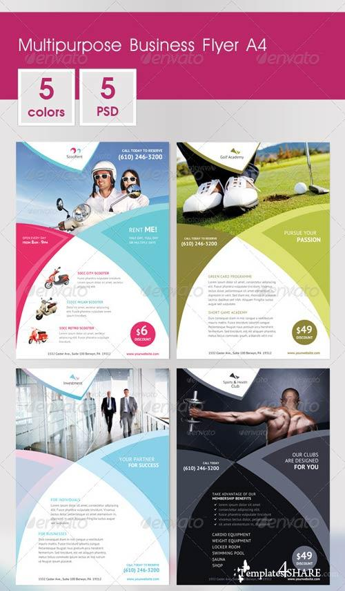 GraphicRiver Multipurpose Business Flyer A4 v.2