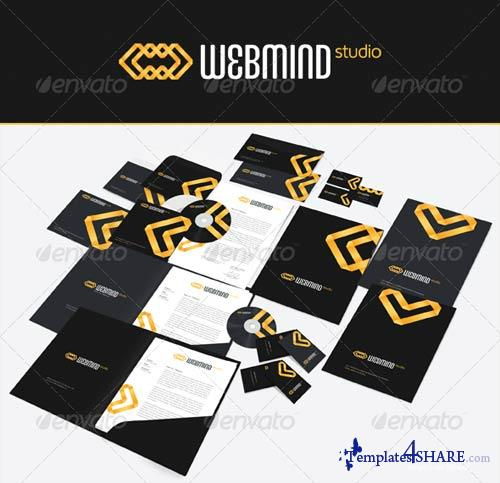 GraphicRiver Web Mind Corporate Identity