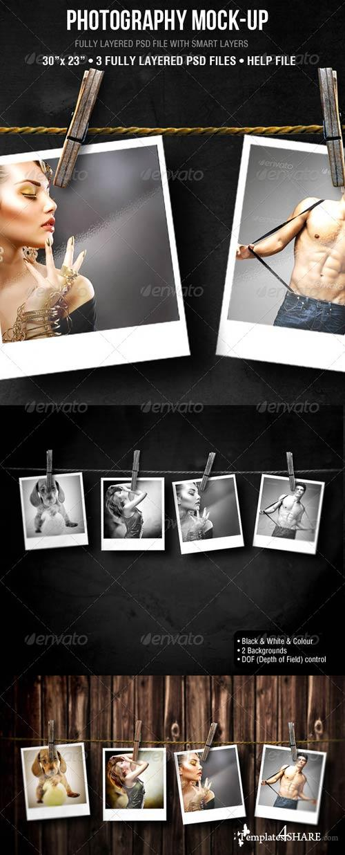 GraphicRiver Photography Mock-up