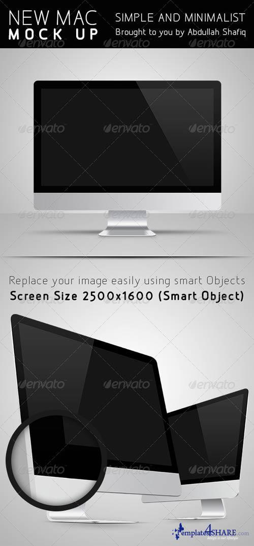 GraphicRiver New Mac Mockup