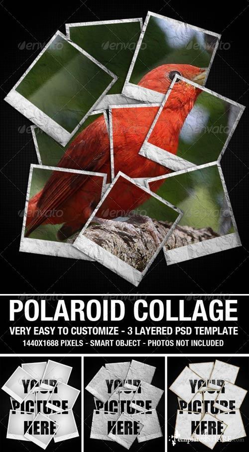 GraphicRiver Polaroid Collage Photo Template