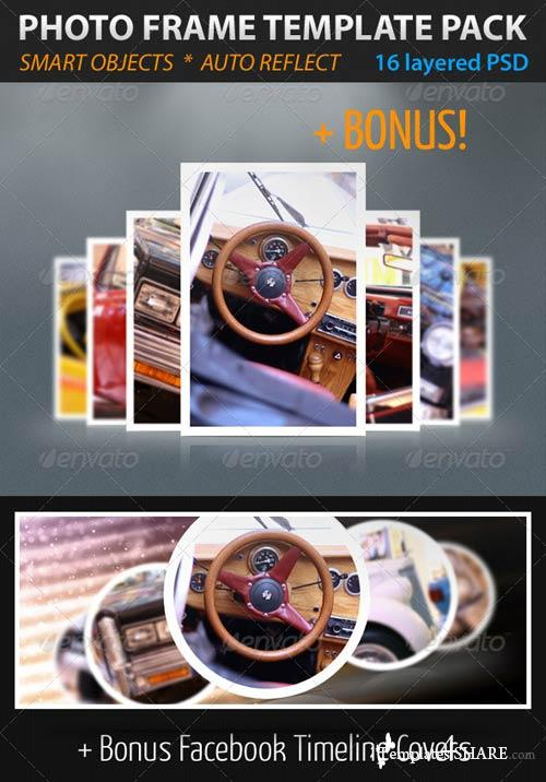 GraphicRiver Photo Frame Template Pack