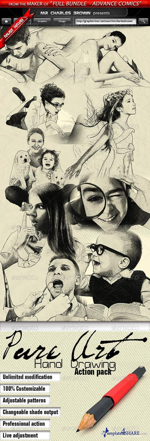 GraphicRiver Pure Art Hand Drawing