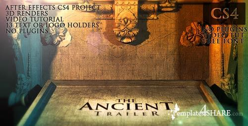 The Ancient Trailer - After Effects Project (Videohive)
