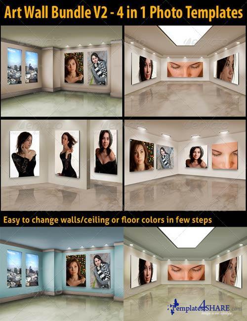 GraphicRiver Art Wall Bundle V2