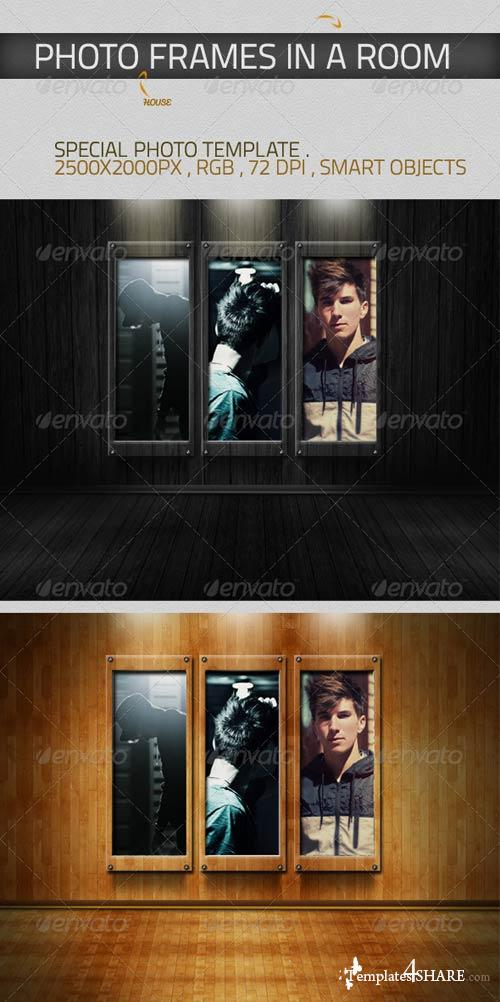 GraphicRiver Photo Template - Room