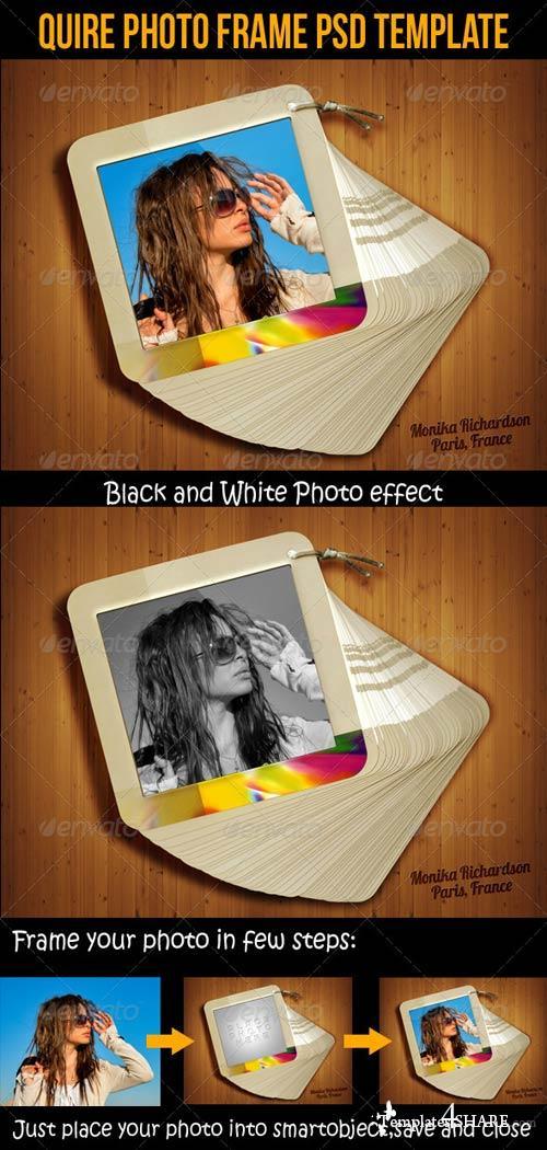 GraphicRiver Quire Photo Frame