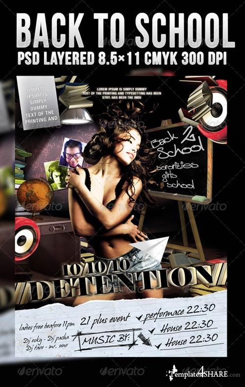 GraphicRiver Back To School Detention