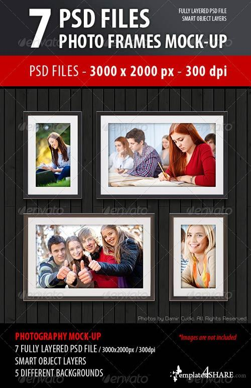 GraphicRiver Photo Frames Mock-Up
