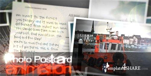 Photo Postcards - After Effects Project (VideoHive)