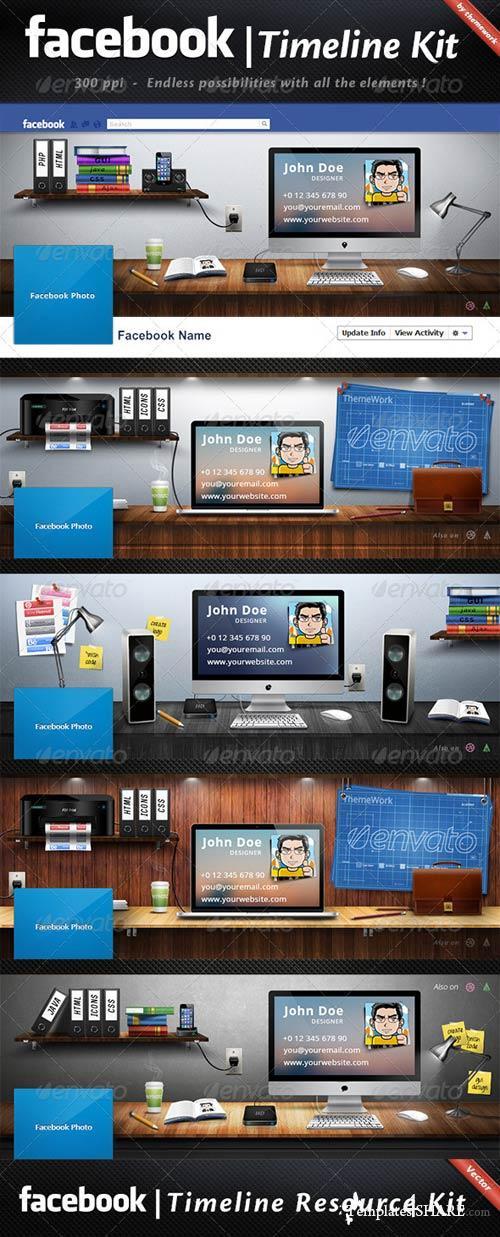 GraphicRiver FB Timeline Kit