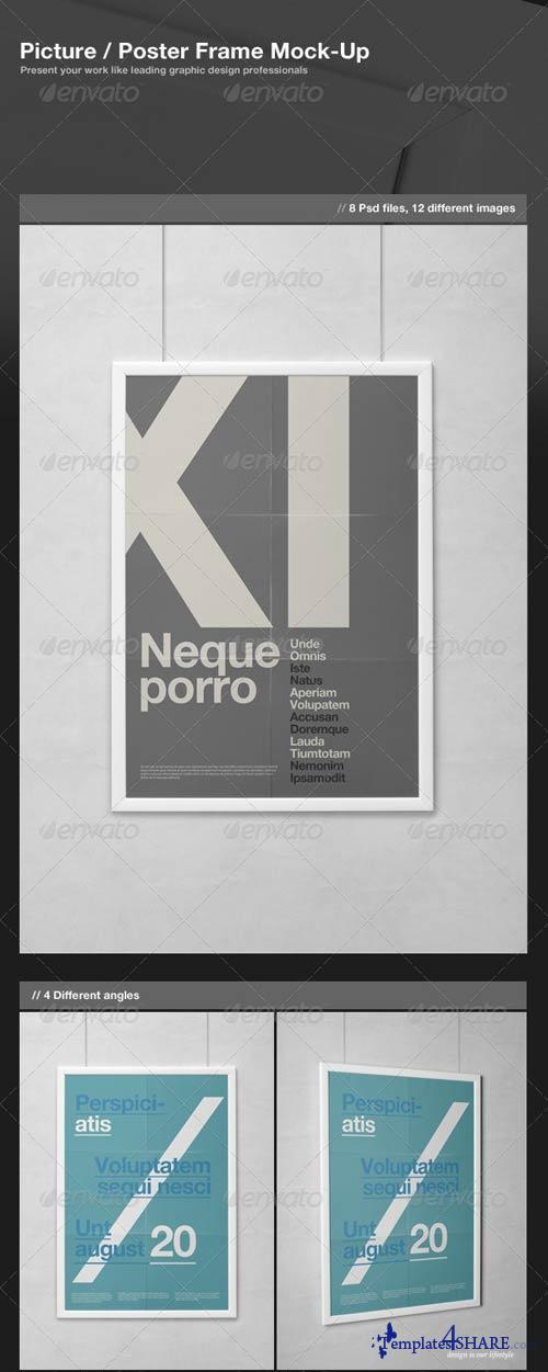 GraphicRiver Picture / Poster Frame Mock-Up