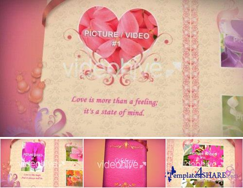 Love Photo Album 12 - After Effects Project (VideoHive)