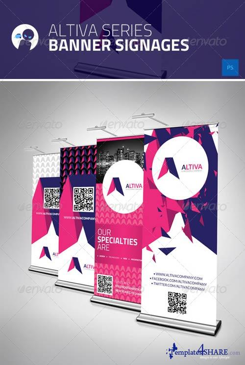 GraphicRiver Altiva Series - Banner Signages
