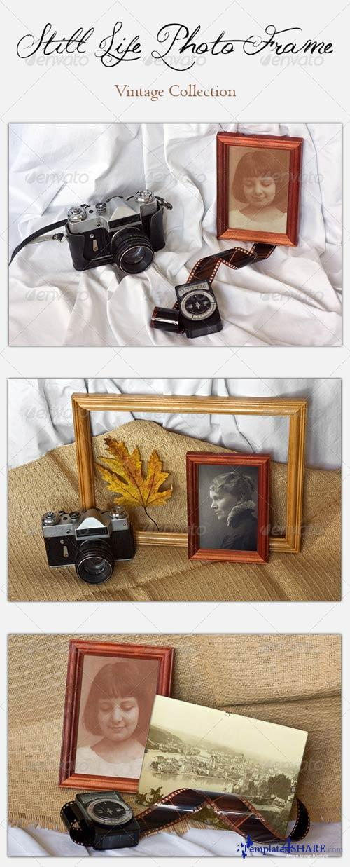 GraphicRiver Still Life Photo Frame - Vintage Collection