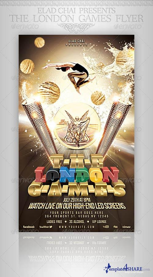 GraphicRiver The Athletics Games Sports Flyer