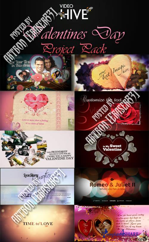Valentine's Day Pack - Videohive Projects Collection