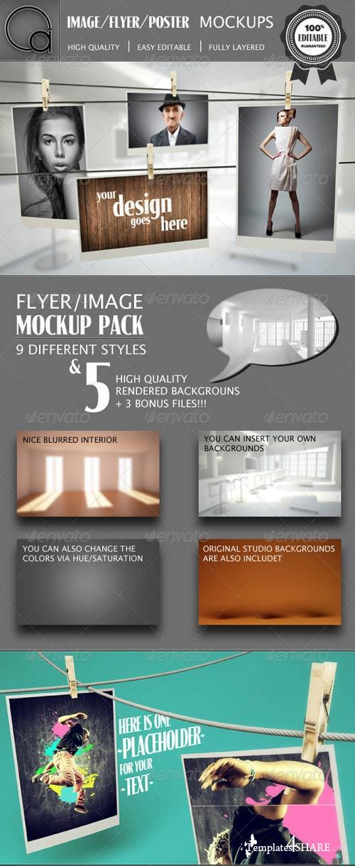 GraphicRiver Image Flyer Poster Mockup