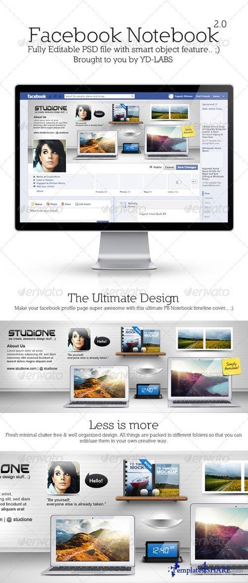 GraphicRiver FB Notebook 2.0