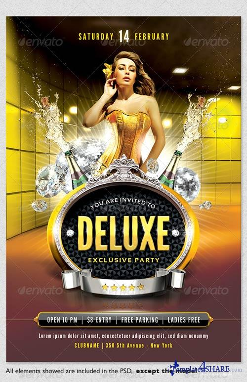 GraphicRiver Deluxe Exclusive Flyer Template