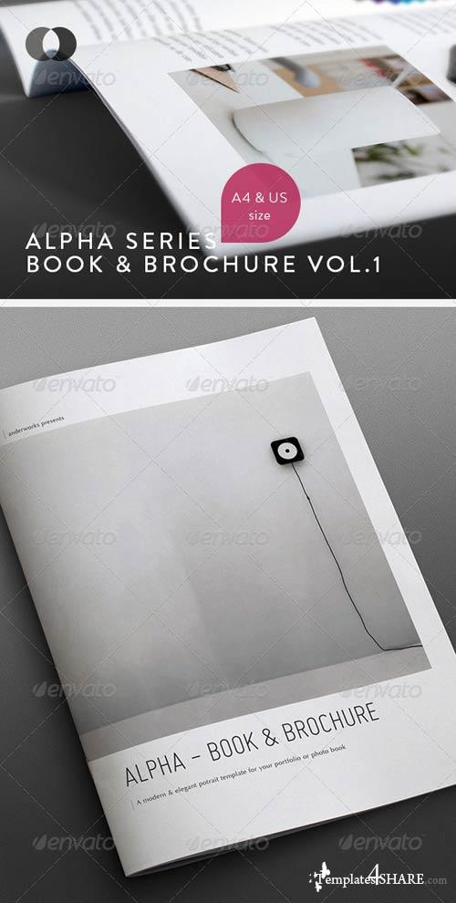 GraphicRiver Book & Brochure - Alpha Series Vol.1