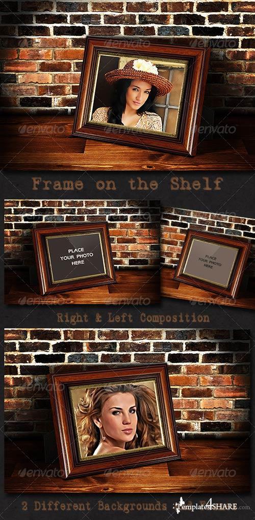 GraphicRiver Photo Frame on the Shelf