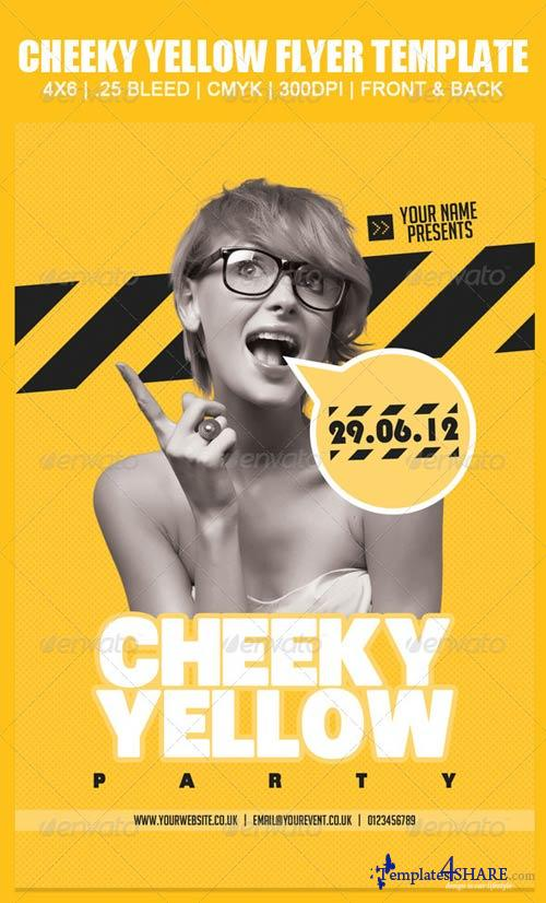 GraphicRiver Cheeky Yellow