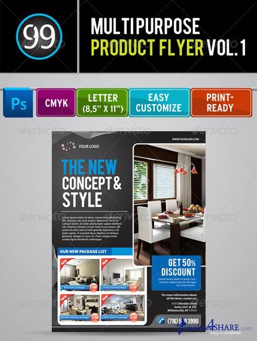 GraphicRiver Promotion Flyer Vol 1