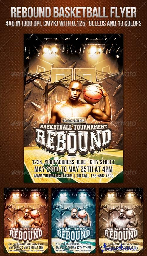 GraphicRiver Rebound Basketball Flyer