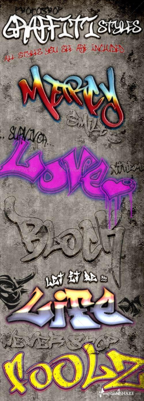 GraphicRiver Graffiti Styles