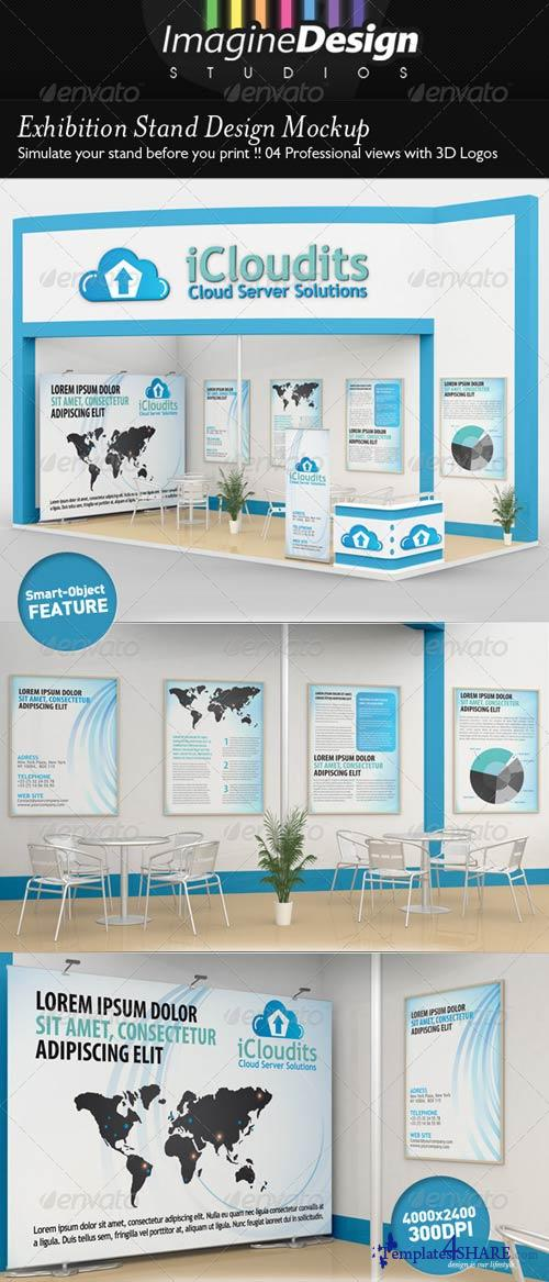 Exhibition Stand Mockup Free : Graphicriver exhibition stand design mockup