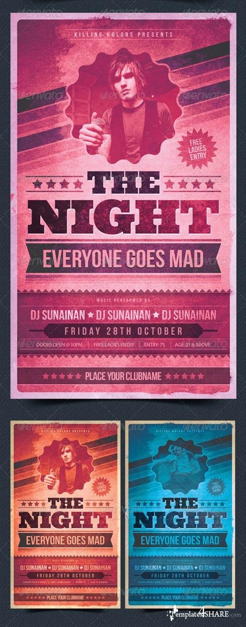 GraphicRiver The Night Everyone Goes Mad