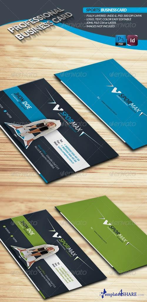 GraphicRiver Sports Business Card