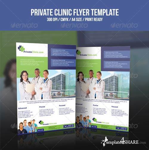 GraphicRiver Private Clinic Flyer Template