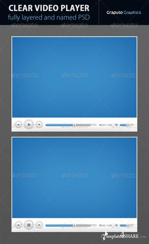 GraphicRiver Clear Video Player