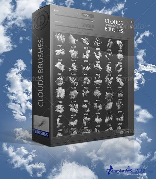 GraphicRiver Clouds Brushes 2,0